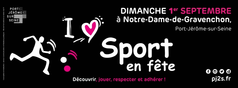 Sport en fête le dimanche 01 septembre 2019